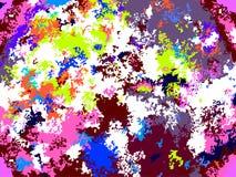 Яркая абстрактная multicolor предпосылка Стоковая Фотография RF