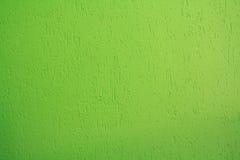 Яркая ая-зелен стена штукатурки Стоковая Фотография RF