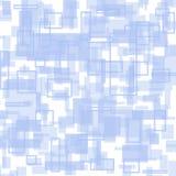 Яркая белая и голубая геометрическая картина бесплатная иллюстрация