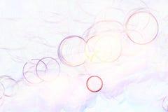 Яркая белая нерезкость предпосылки яркая Стоковые Изображения RF