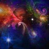Яркая вселенная Стоковое Изображение RF