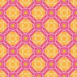 Яркая геометрическая безшовная картина Стоковые Фотографии RF