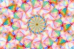 Яркая геометрическая предпосылка Стоковая Фотография