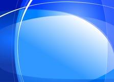 Яркая голубая абстрактная графическая предпосылка Стоковая Фотография