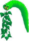 яркая гусеница Стоковые Фотографии RF