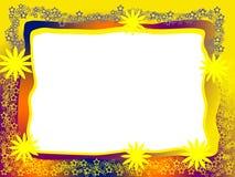 яркая декоративная рамка Стоковое Изображение RF