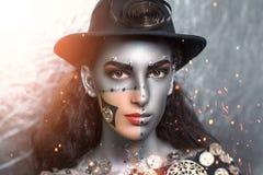 яркая женщина Стоковая Фотография