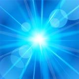яркая звезда также вектор иллюстрации притяжки corel Стоковое фото RF