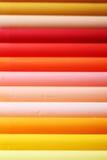 Яркая линия пастели мела теплого тона красочной Стоковые Изображения RF