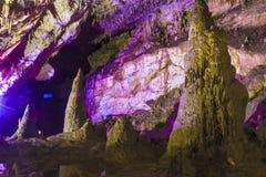 Яркая и красочная пещера Abrskil Стоковая Фотография RF