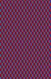 Яркая и смелейшая голубая, cyan, и красная неровная картина бесплатная иллюстрация