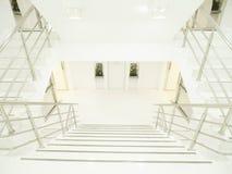 Яркая и чистая лестница Стоковые Фото