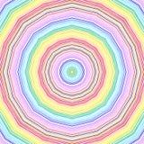 Яркая картина radial цвета иллюстрация вектора