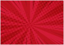Яркая красная ретро шуточная предпосылка Стоковое фото RF