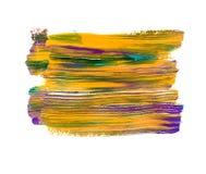 Яркая красочная акриловая предпосылка Стоковые Фотографии RF
