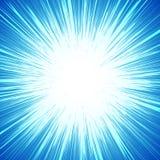 Яркая красочная предпосылка с starburst & x28; sunburst& x29; похожий на мотив иллюстрация вектора