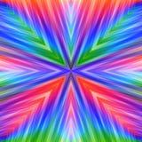 Яркая красочная Striped угловая предпосылка Стоковые Изображения