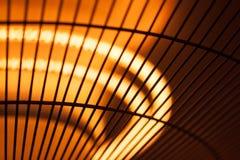 Яркая нить для лампы или подогревателя жары стоковое изображение rf