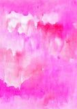 Яркая оранжевая предпосылка акварели стоковое фото rf