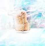 Яркая открытка на теме Нового Года Стоковые Фотографии RF