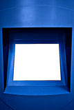 яркая панель информации положила белизну текста вашу Стоковое Изображение RF