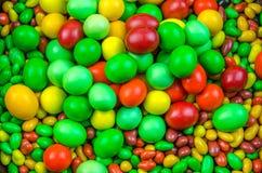 Яркая пестротканая конфета Стоковые Фото
