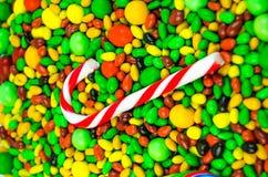 Яркая пестротканая конфета Стоковая Фотография