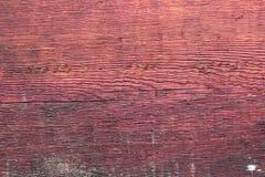 Яркая предпосылка старой красной деревянной доски стоковое изображение