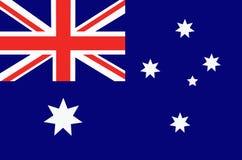 Яркая предпосылка с флагом Австралии Счастливая предпосылка дня Австралии иллюстрация Стоковое Фото