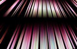 Яркая предпосылка ткани нашивок Красивейшая конструкция Стоковая Фотография