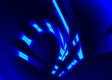 яркая предпосылки голубая Стоковая Фотография