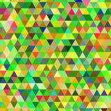 Яркая предпосылка вектора треугольника Стоковое Изображение