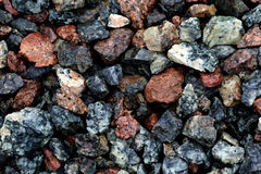 Яркая предпосылка камня гранит Стоковое Фото