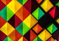 Яркая предпосылка красочных диамантов Стоковые Фотографии RF
