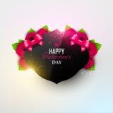 Яркая предпосылка дня ` s валентинки Стоковая Фотография RF