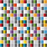 Яркая предпосылка плиток мозаики Стоковое Изображение
