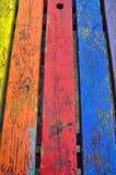 Яркая предпосылка древесины цветов Стоковые Фотографии RF
