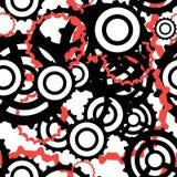 Яркая промышленная безшовная картина с красочными шестернями и cogs иллюстрации вектора различной формы плоской иллюстрация штока
