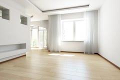 яркая пустая комната Стоковые Фотографии RF