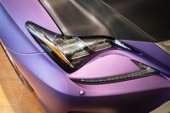 Яркая расцветка автомобиля Стоковая Фотография
