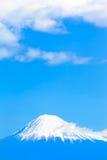 Яркая синь Mt fuji Стоковое Изображение RF