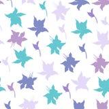 Яркая флористическая предпосылка с пурпурным вектором цветков Бесконечная текстура для ваших дизайна, плитки и ткани иллюстрация вектора