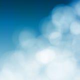 Яркая цветастая предпосылка bokeh солнца и моря Стоковые Изображения