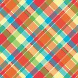 яркая шотландка картины Стоковое Изображение