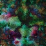 Яркая handdrawn текстура предпосылки акварели Стоковое Изображение RF