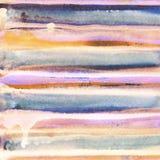 Яркая handdrawn текстура предпосылки акварели Стоковое Фото