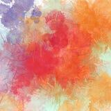 Яркая, multicolor предпосылка акварели стоковое фото rf