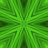 Яркая Striped угловая предпосылка зеленых цветов Стоковые Фото