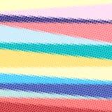 Яркие абстрактные полигоны картины Стоковые Изображения