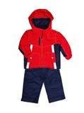 яркие брюки куртки s детей Стоковые Фото